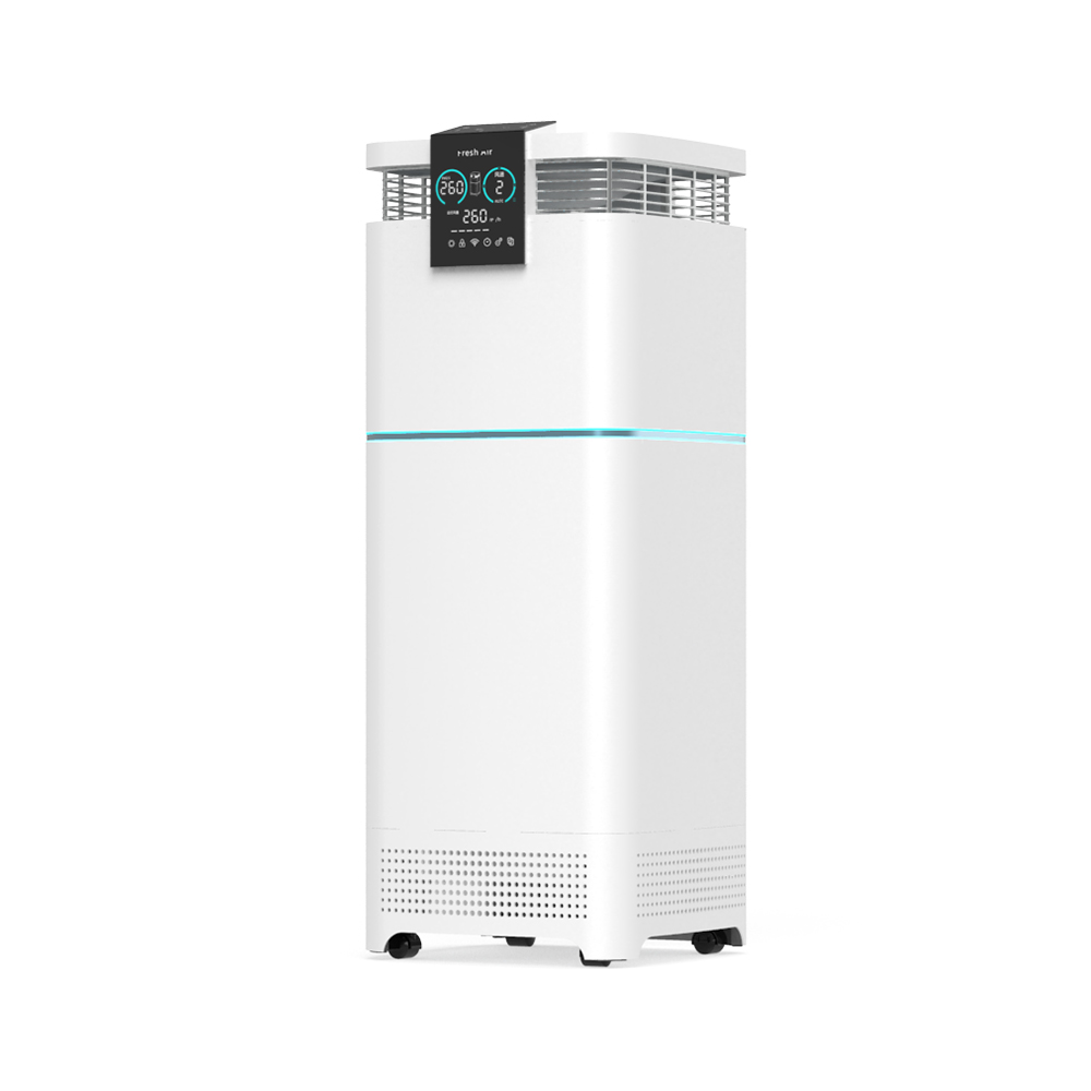 Large room air filter machines tower uvc that kills viruses hepa Air Purifier for large spaces asthma A9