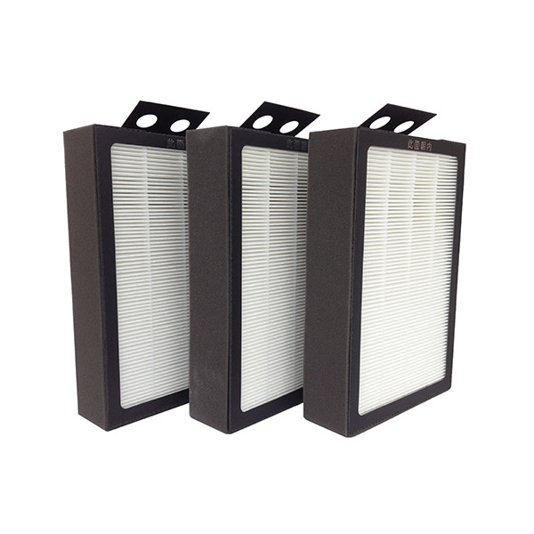 HEPA activated carbon composition filter