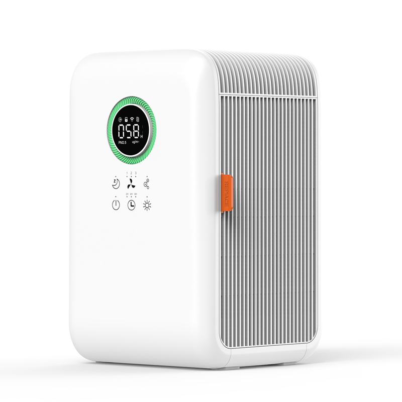 mini quiet Desktop Hepa air cleaner small room air purifier humidifier OEM with humidifying function