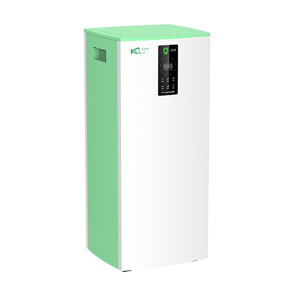 UVC air disinfector with photocatalyst
